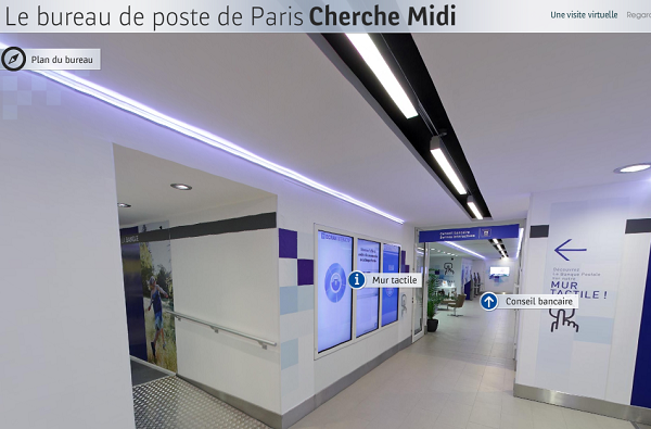 Bureau de poste de paris cherche midi paris france connected store