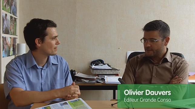 Interview d'Olivier Dauvers sur les magasins connectés