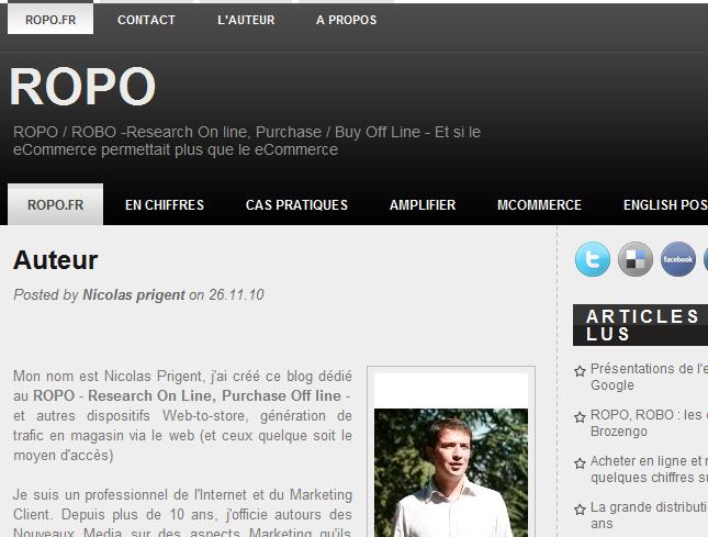 Blog Ropo.fr