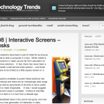 billet retail technology trends bornes