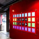 ecran interactif magasin puma