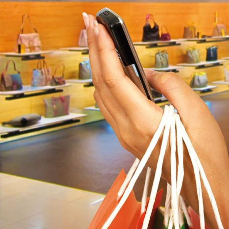 Mobile en magasin
