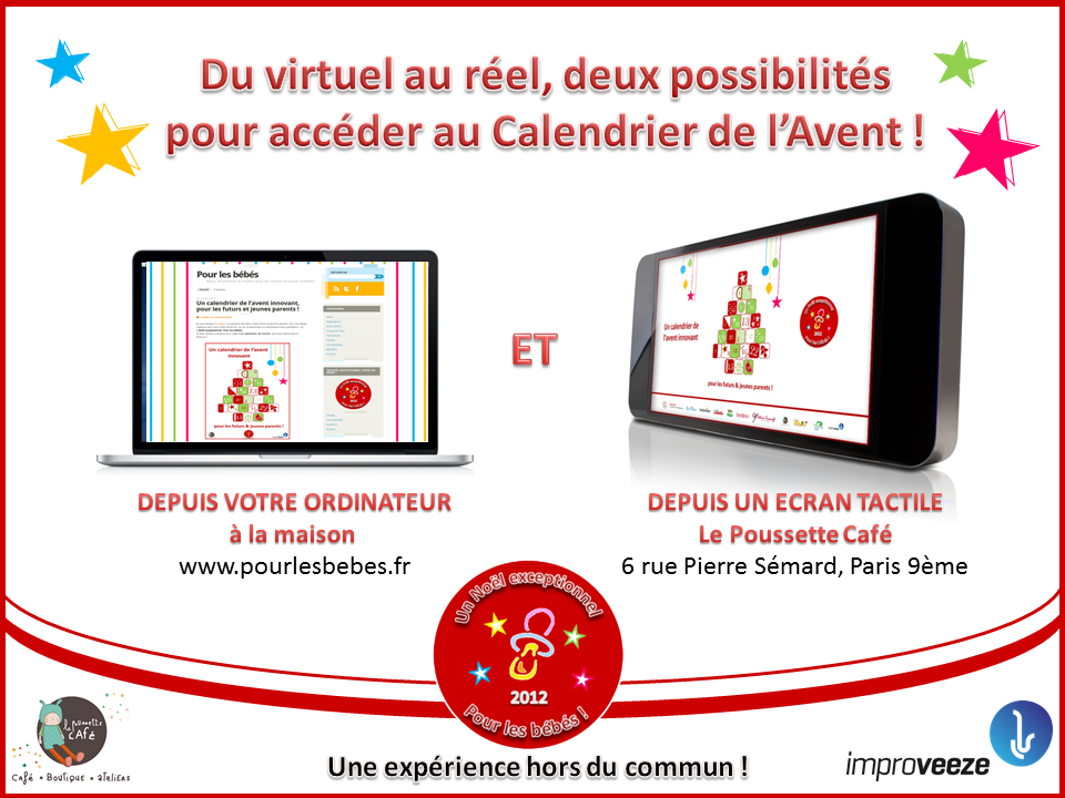 Calendrier cross canal digital et tactile