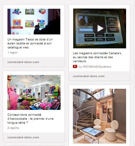 Beaucoup de nouveaux magasins connectés en 2012