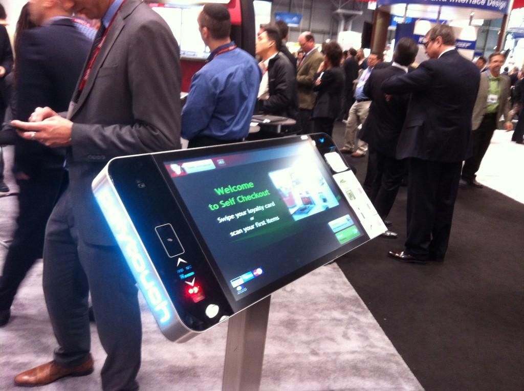 NRF 2013 ecran interactif NFC
