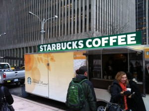 Starbuck coffee NRF 2013
