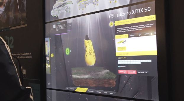 Le virtual footwear adidas ou le futur du retail