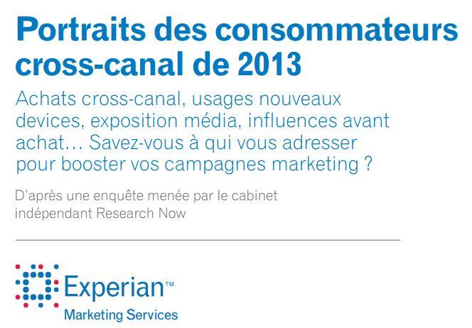 Les chiffres de Connected Store s'intéressent au portrait du consommateur cross-canal de 2013