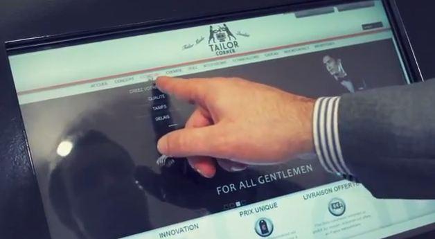 Tailor Corner utilise la technologie dans son magasin