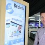 Le magasin connecté Bedshed propose des écrans interactifs dans un point de vente physique