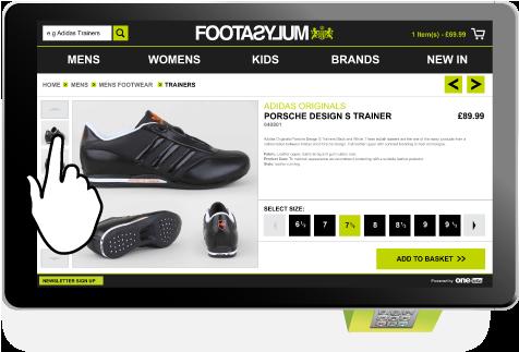L'enseigne Footasylum installe un dispositif connecté au web dans son flagship de Manchester