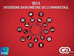 La deuxième édition du baromètre Omniretail nous éclaire sur le commerce connecté en 2013
