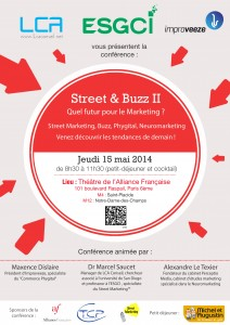 Street and buzz II - street marketing, phygital commerce et neuromarketing