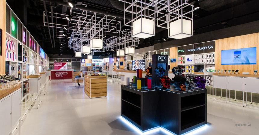 paris la capitale des magasins 3 0 connected store. Black Bedroom Furniture Sets. Home Design Ideas