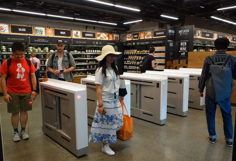 Même si Amazon ouvre des boutique, elles sont loin d'égalé les boutiques traditionnelles