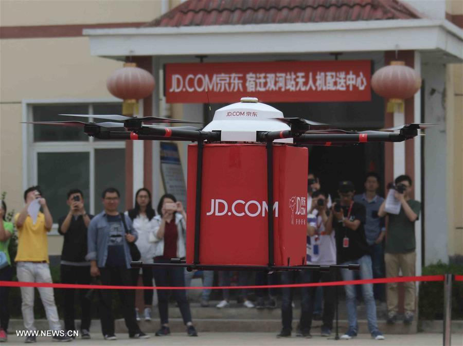 chine-livraison-zone-rurale-drone
