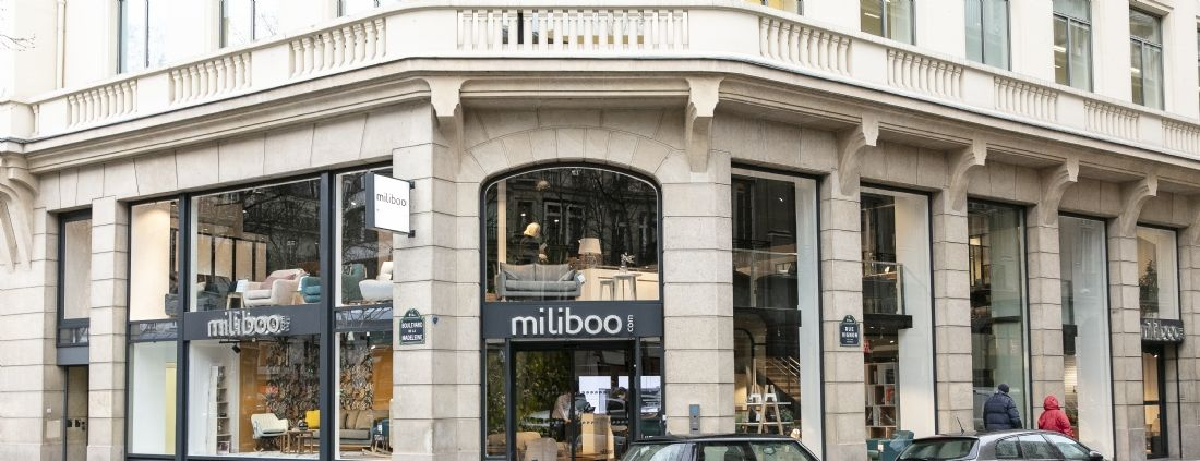 Miliboo, son flagship ultra-connectée