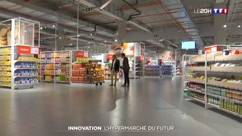 Auchan Luxembourg, la mise en scène