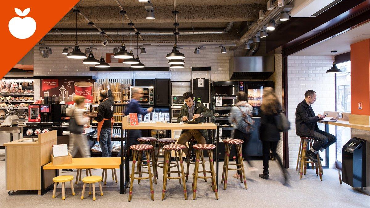 Eat-in-Store, Franprix