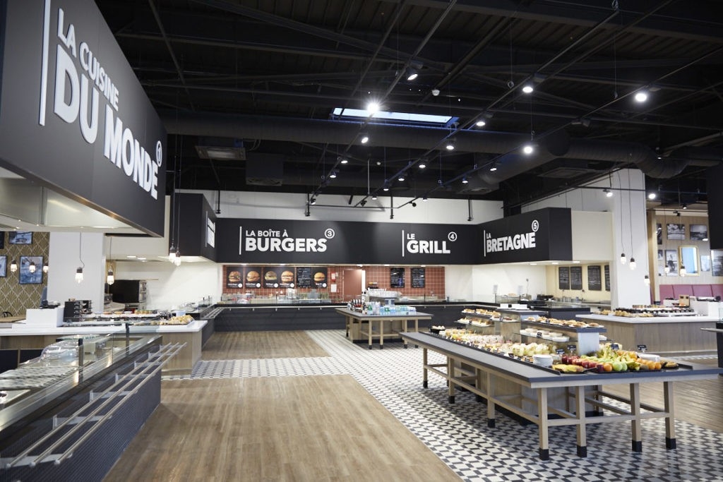 Eat-in-Store, Leclerc