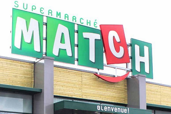 Match, communication digitale