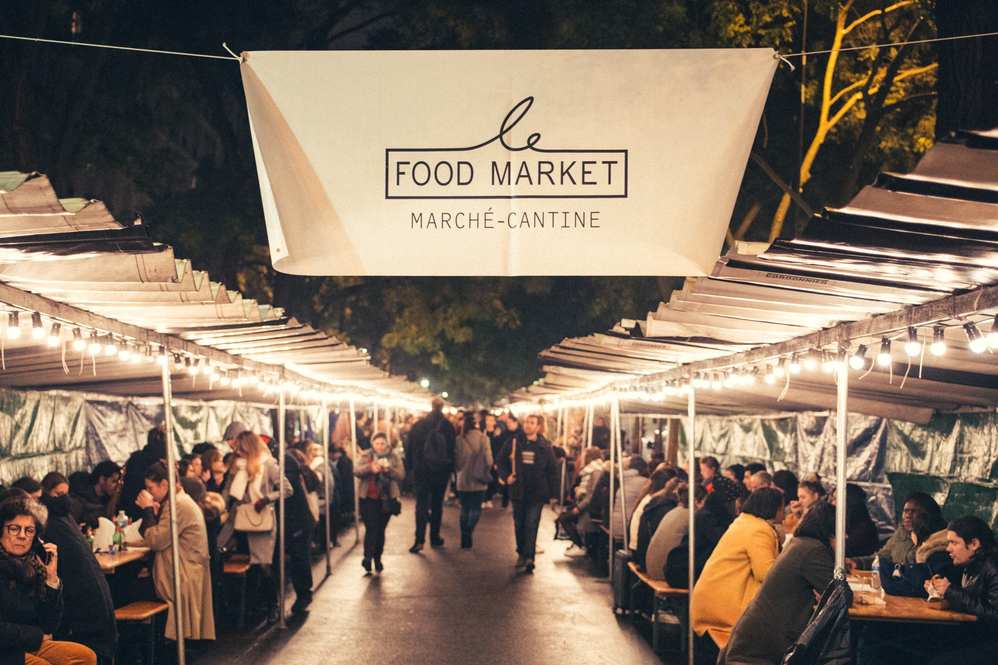Food Market Paris