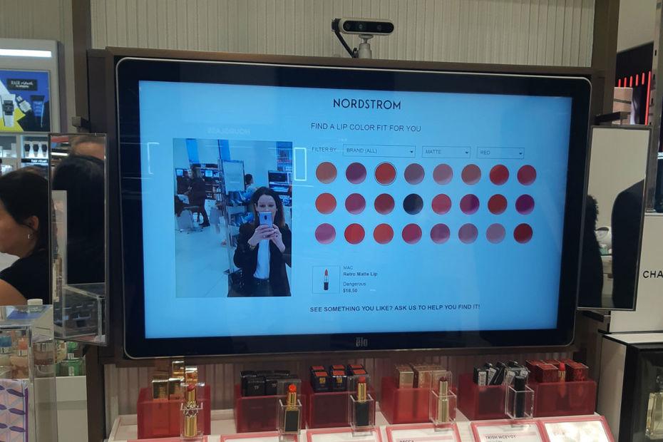 Nordstrom New-York, le digital au service du client