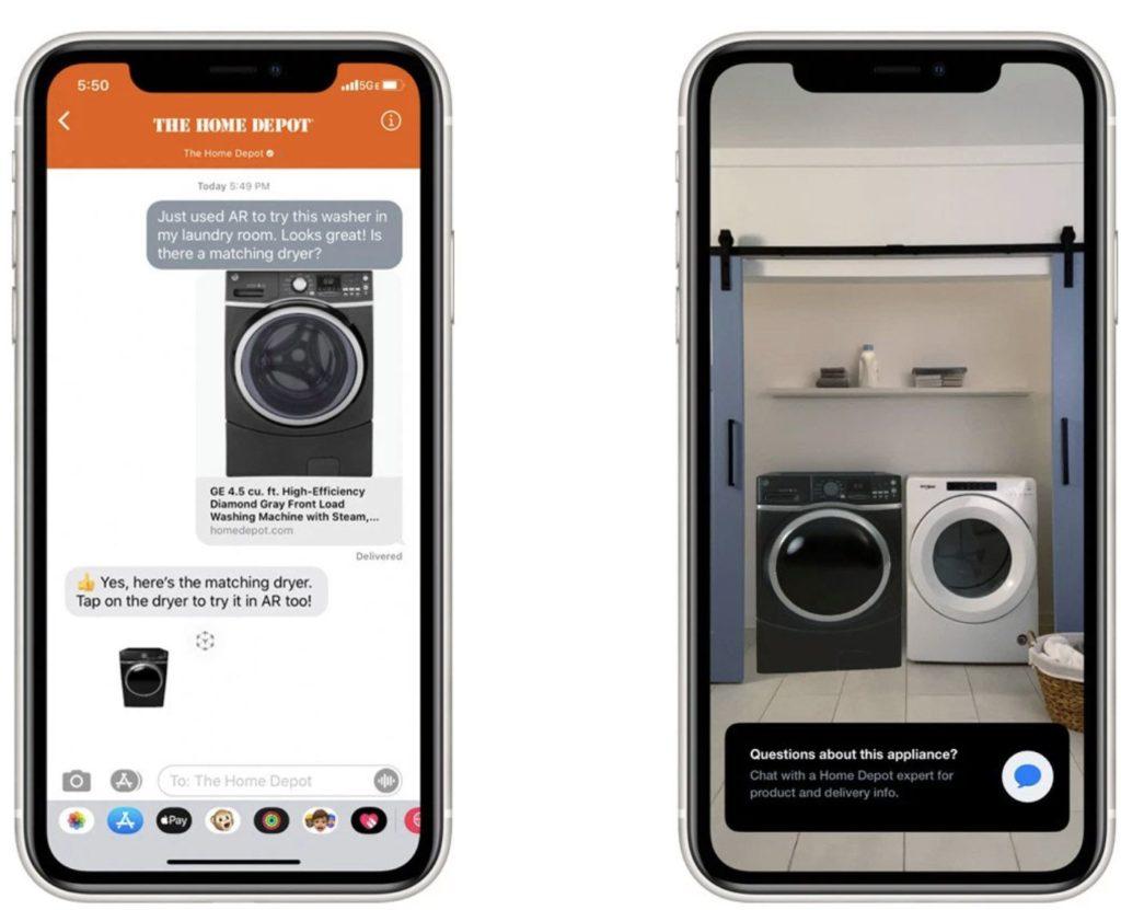 Apple, la réalité augmentée réinvente le commerce