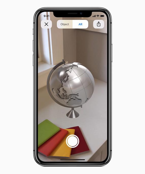 Apple, la réalité aumgentée réinvente le commer