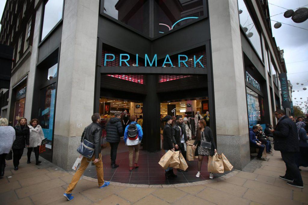 Le tout premier pop up store de Primark