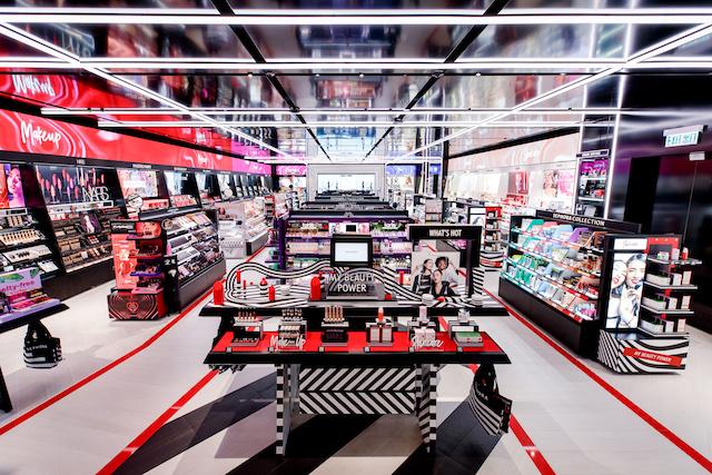 Sephora : retrait de commandes à l'entrée des magasins