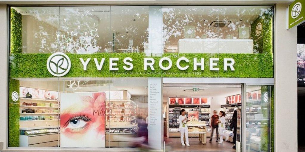 Yves Rocher réorganise ses magasins