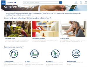 Carrefour lance sa marketplace