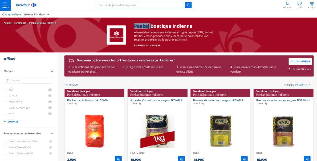 Carrefour lance sa marketplace