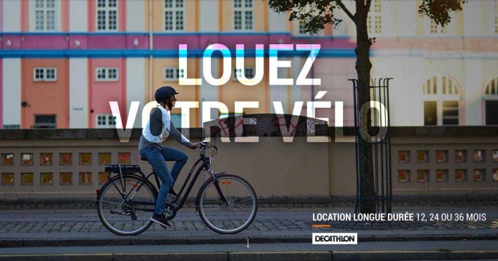 Location de vélos à Paris & Lyon pour Décathlon