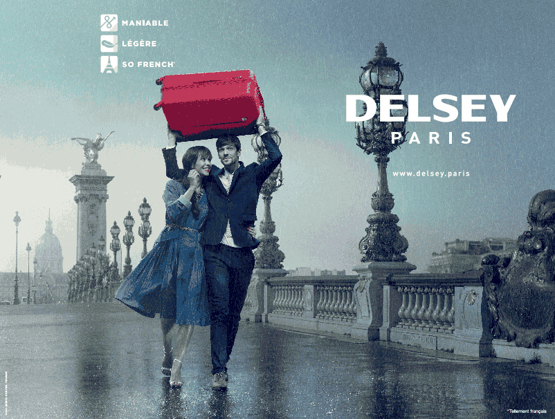 Delsey lance son e-shop