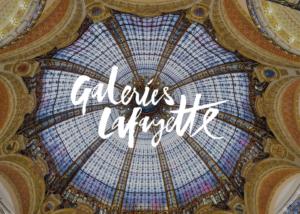 Le shopping à distance par Les Galeries Lafayette