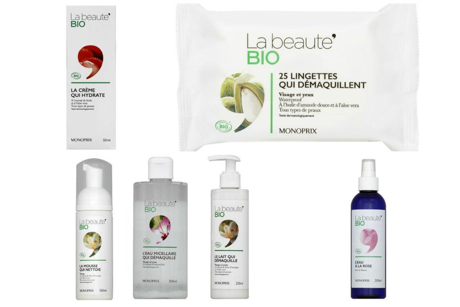La gamme maquillage bio de Monoprix