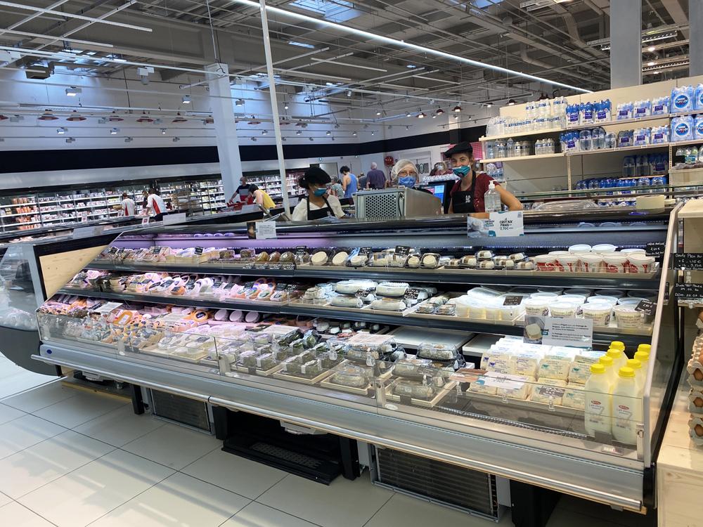 Le corner fermier d'Auchan, A2 pas d'ici