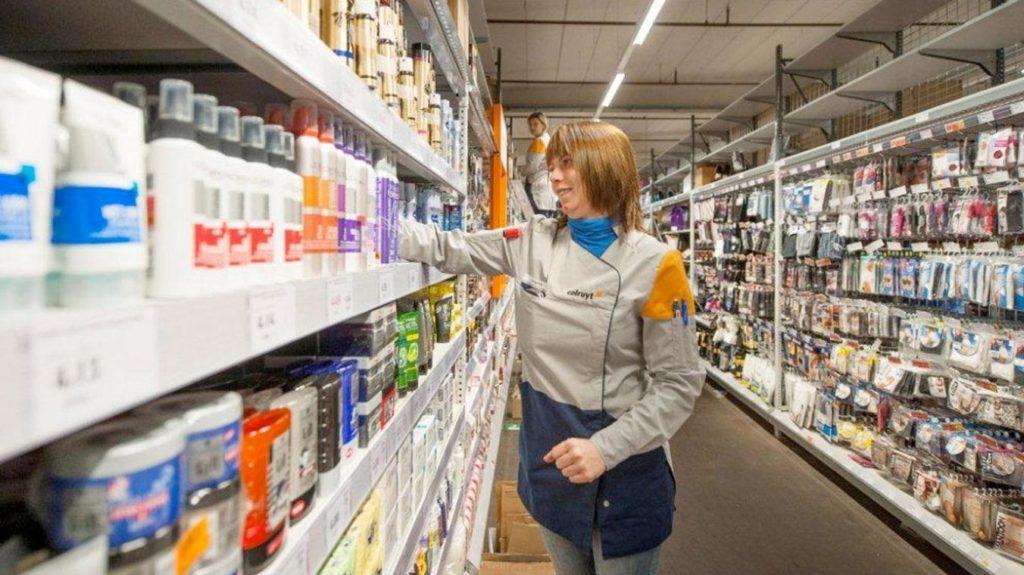 Colruyt, magasin et vendeurs connectés