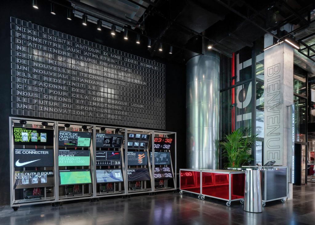 Nike House of Innovation sur les Champs Elysées