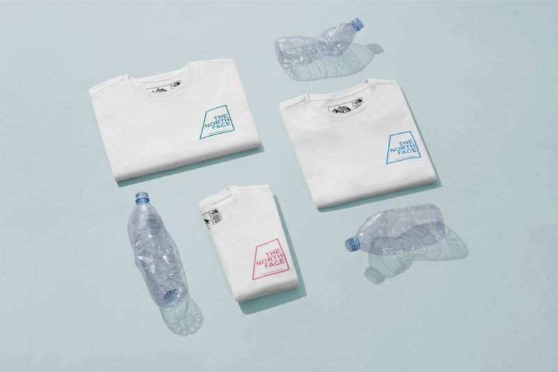 The North Face recycle des bouteilles en plastique pour sa collection