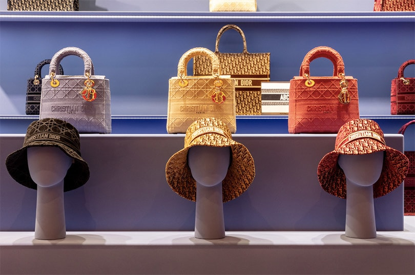 Dior pop-up store