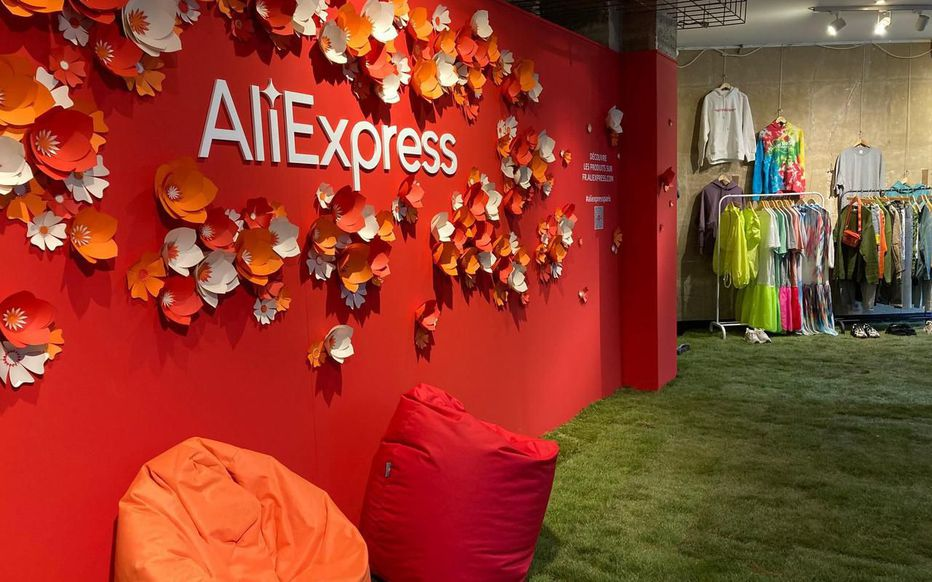 Paris, le magasin éphémère d'AliExpress