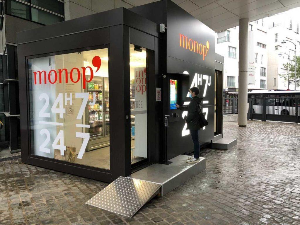 BlackBox, le magasin autonome de Monoprix