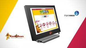 Il s'agit de la seconde vague de déploiement des écrans Cataleeze4Shop d'Improveeze, laquelle porte le nombre total de magasins King Jouet équipés à 25.