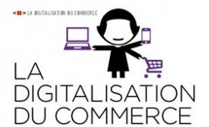 Des chiffres au sujet de la digitalisation du commerce.