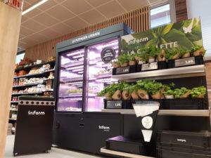 L'agriculture urbaine par Intermarché