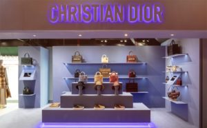 Dior pop-up store