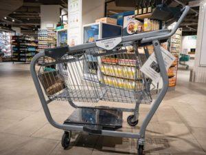 Le chariot connecté de Monoprix pour faciliter les achats